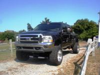 Wow hot super Duty Lifted 4'' on 20'' aluminum welds,
