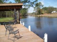Beautiful 1.13 acre home with 200 foot of water
