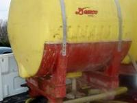 200 gallon Demco saddle tank with straps ,cradle, and