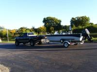 1992 19FT STARCRAFT FISH & SKI BOAT WITH 200HP 200 HP