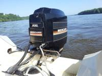 200 HP Mercury Black Max Outboard Motor for Sale in Bellevue