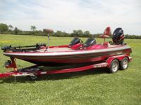 Stock Number: 710675. 2008 Skeeter ZX200, 200 HP Yamaha