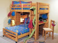 We are selling two sets of bunkbeds originally from