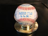 Official Rawlings American League Seattle Mariners 1981