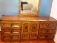 Nice Bedroom dresser and Chester-draws for sale. Dress