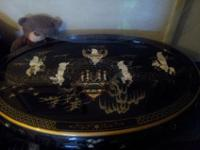 One of a kind table. Hand made art. Its in pretty good