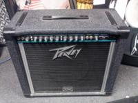 I'm selling my Peavey Solo Series Bandit 112. Not sure