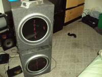 brand new 2 15inch speakers p1 rockford foscate in a