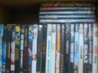 200 plus dvd's for sale. see photos for names on cases.