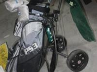 Set of PS3 golf clubs for sale $250 like new. Comes