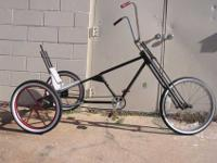 Real Old school Custom made 3-wheel Trike RatRodeBike