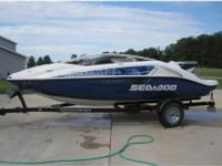 LOW HOURS Less then 200 hundred hours. 2007 200 SEADOO