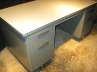 This tanker desk was made in the USA at a time when