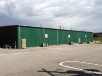 12,000 sq ft insulated warehouse in downtown Augusta,