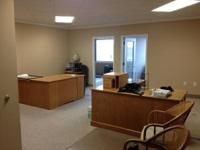 Great 1st floor office around 650 S.F with added 2nd