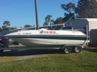 I have a 22 foot  2000 Tahoe 220 deck boat for sale