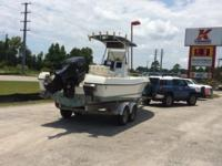 2000 22' Offshore Triton Center Console Fishing boat