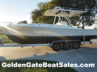 2000, 29' STRIKE 29 Custom Cuddy Center Console Twin