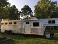 Elite horse trailer ad 2000 4 horse all aluminum Elite,