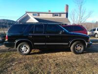 I am selling my 2000 Chevy Blazer, because i had