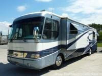 Model XL 390 with slide-out. A nice highline coach with