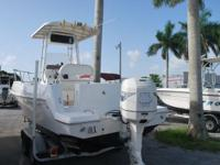 SE HABLA ESPANOL!!!!!!  2000 AQUASPORT OSPREY 24FT OPEN