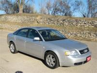 2000 AUDI A6 4D SEDAN 2.7TWIN TURBO QUATTRO.1-owner