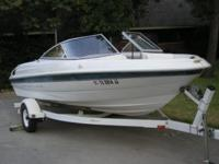 This is a great looking family fun boat located at Amon