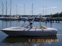 The boat is a 2000 Bayliner Capri 1950.  -it's an