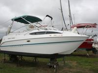 2000 Bayliner Ciera 2455 reported to have under 100