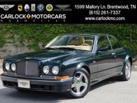 Extremely rare opportunity to own this 2000 Bentley