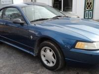 2000 Ford Mustang 141k miles. 6 cyl automatic. Clean
