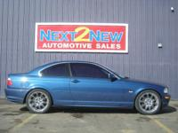 Options Included: This Is A Beautiful Blue 2000 BMW