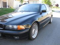 2000 BMW 528I BLUE! Sporty! Nice Car! All Power! Loaded! Runs Good