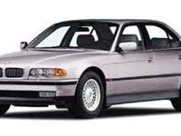 This beautiful 2000 BMW 740 Stock Number T716C has only