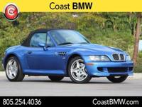 Options:  2000 Bmw Z3 M Base|Blue|Heated Front Bucket