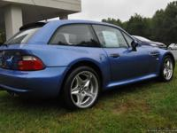 2000 BMW M Z4 COUPE 1 OWNER CLEAN CAR FAX! 5 SPEED!