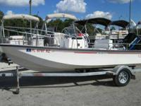 A hard to find Whaler. A 2000 Boston Whaler 17 Montauk.