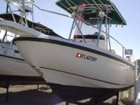 Here we have a great Boston Whaler 210 Outrage. This is