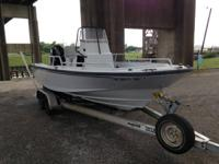 20 ft Boston whaler OUTRAGE - 2000 year design. 2008