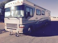 we are the second owner of this beautiful motorhome.