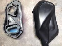 Speedo cluster 2400 miles gas tank cover. Air cleaner.