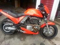 This an extremely great 2000 Buell Cyclone M2. I