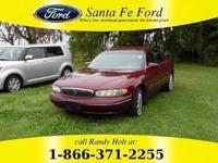 *2000 Buick Century Custom *- Tinted Windows - Steel