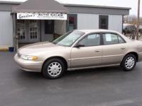 We have a 2000 Buick Century! Perfect auto for