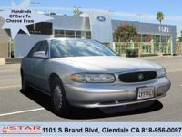 This outstanding 2000 Buick Century Custom is offered