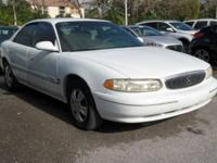 Options:  2000 Buick Century Custom|White|Cloth Seat