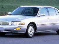 2000 Buick LeSabre Custom Beige 30/19 Highway/City MPG