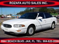 2000 Buick Lesabre Limited It has leather interior