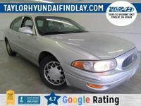 2000 Silver Buick LeSabre Limited    4-Speed Automatic.